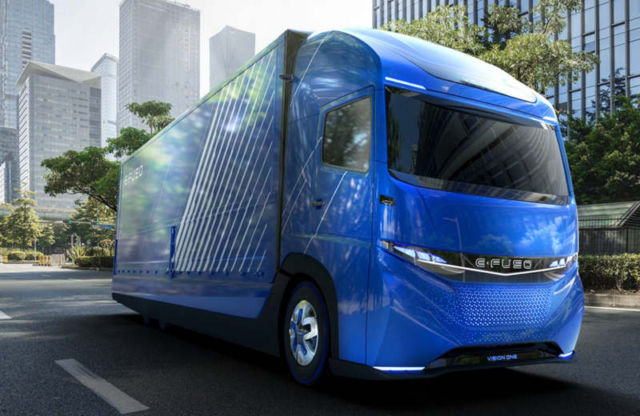 Daimler unveils its electric truck