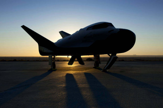 Dream Chaser at Dawn