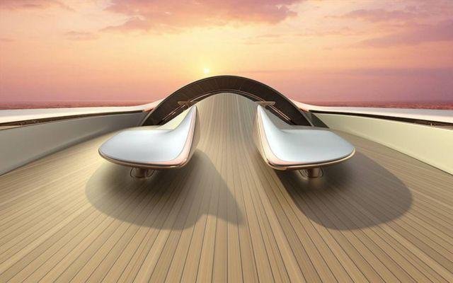 Dune Hybrid concept 60 m superyacht (2)