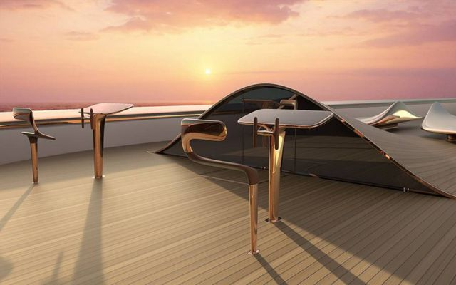 Dune Hybrid concept 60 m superyacht (3)