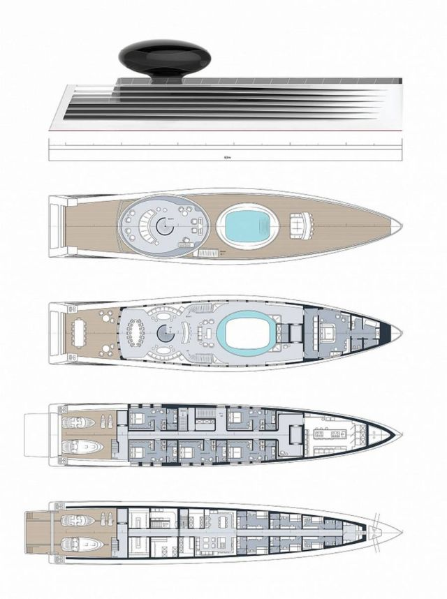 EAU concept electric Luxury Yacht (2)