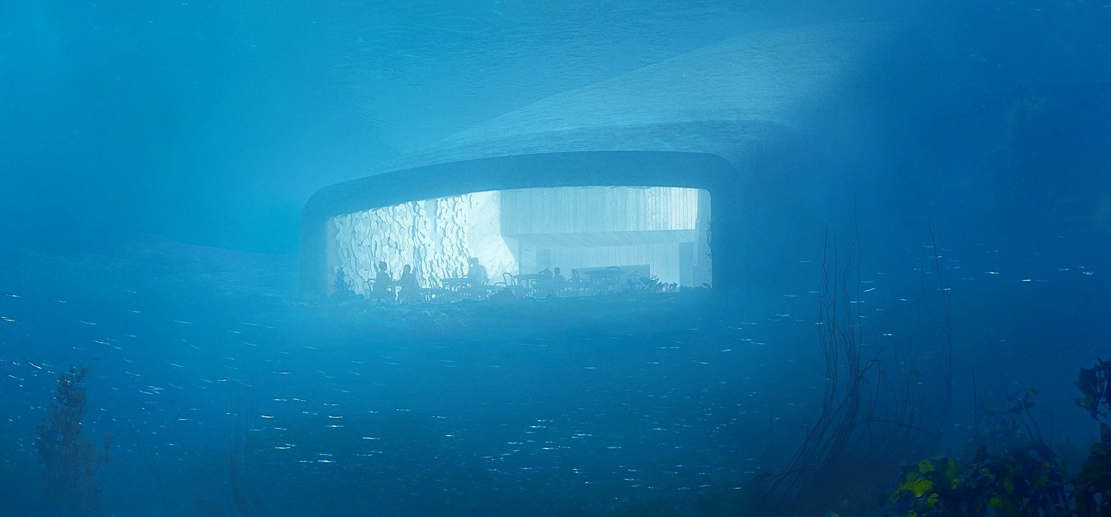 Europe's first Underwater Restaurant (1)