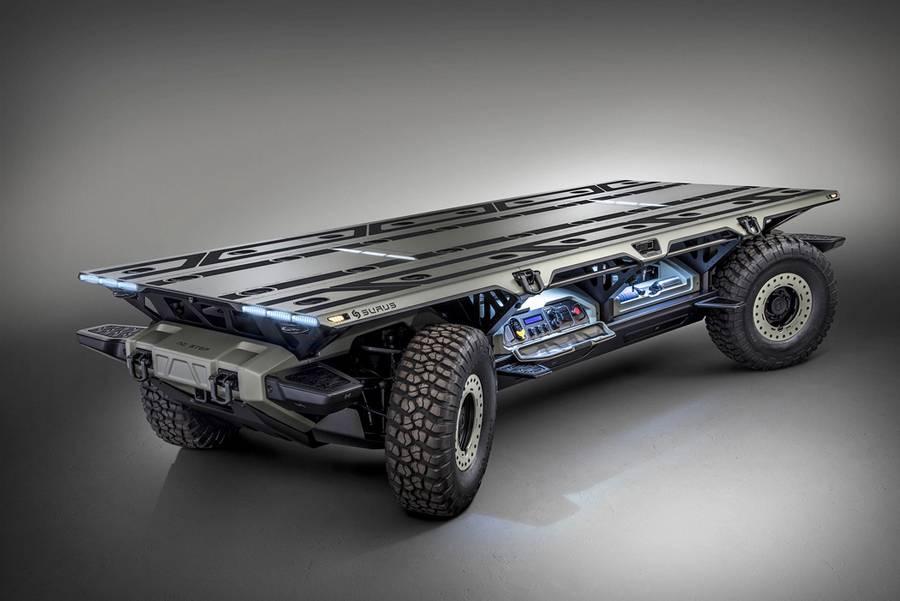 GM Surus Autonomous Truck Platform (7)