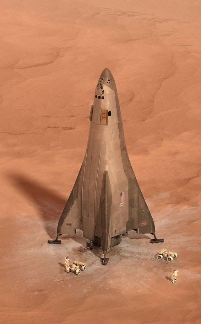 Lockheed Martin plan for in orbit Mars base camp (6)