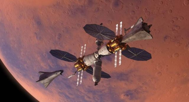 Lockheed Martin plan for in orbit Mars base camp (3)