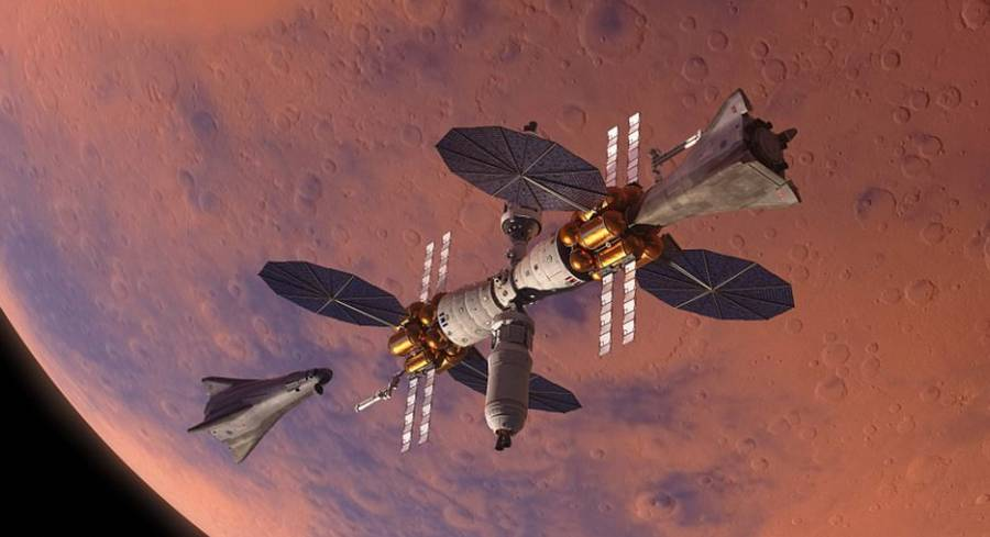 Lockheed Martin plan for in orbit Mars base camp (3)