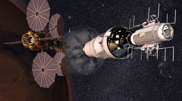 Lockheed Martin plan for in orbit Mars base camp (2)