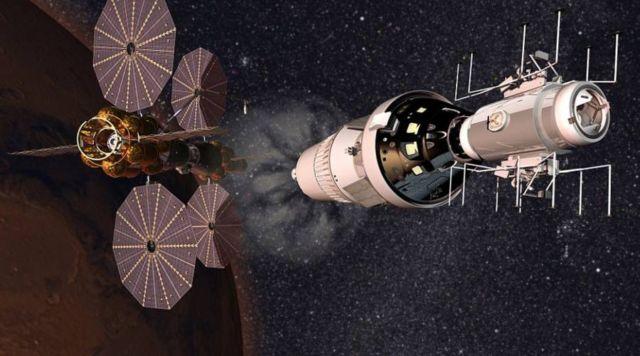 Lockheed Martin plan for in orbit Mars base camp (2)