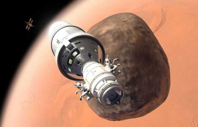 Lockheed Martin plan for in orbit Mars base camp (1)