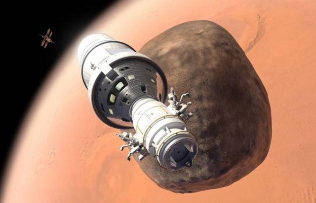 Lockheed Martin plan for in orbit Mars base camp (1)