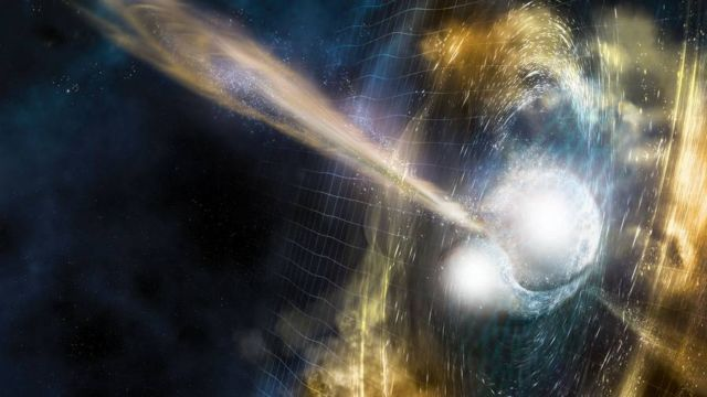 Major Gravitational Wave discovery from Colliding Neutron Stars