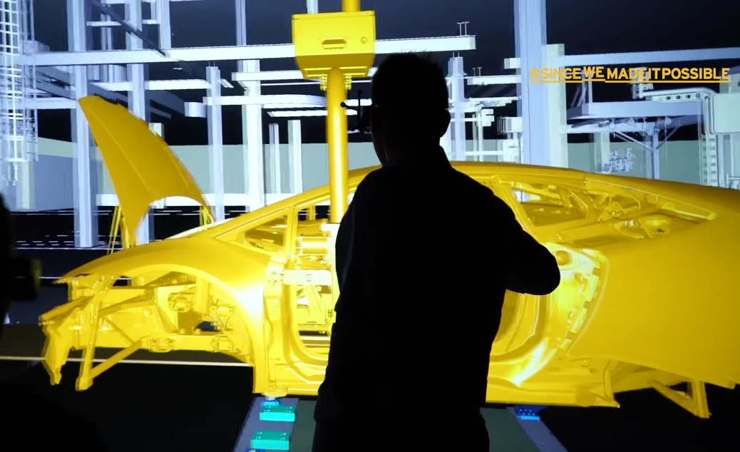 Manifattura Lamborghini- the cutting-edge 4.0 factory