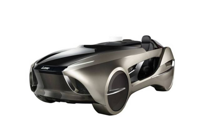 Mitsubishi EMIRAI 4 Electric Smart Mobility