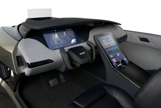 Mitsubishi EMIRAI 4 Electric Smart Mobility concept car