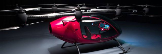 Passenger Drone First Manned Flight (4)