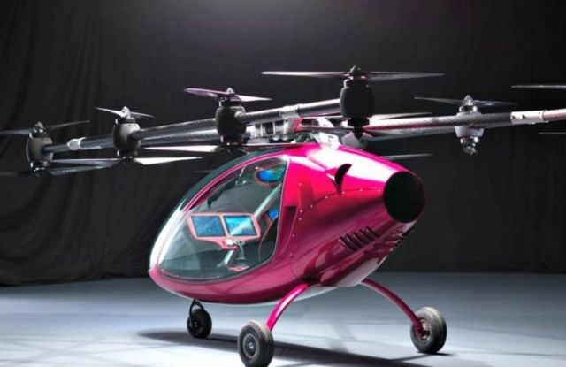 Passenger Drone First Manned Flight (3)