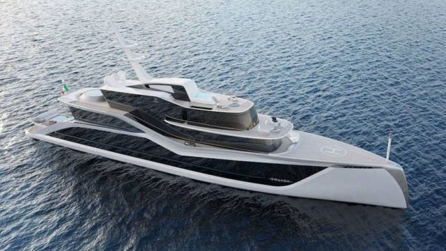 Progetto Bolide Concept superyacht