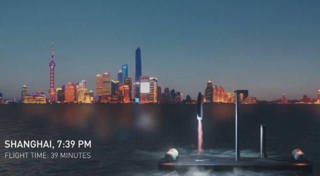 SpaceX BFR Intercontinental Rocket (3)