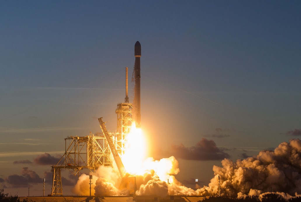 SpaceX launches Echostar 105 with a reused Rocket