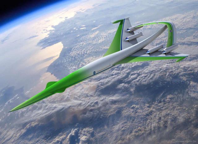 Supersonic Green Machine concept plane