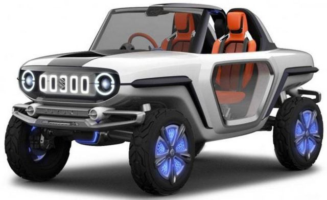Suzuki e-Survivor Electric concept