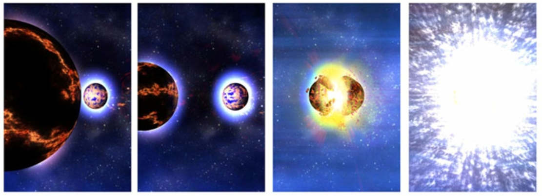 collision of neutron stars