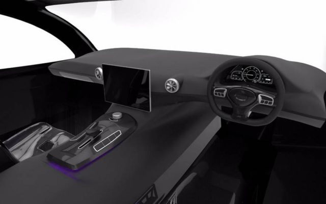 Sunswift Violet sleek four-seat car (2)