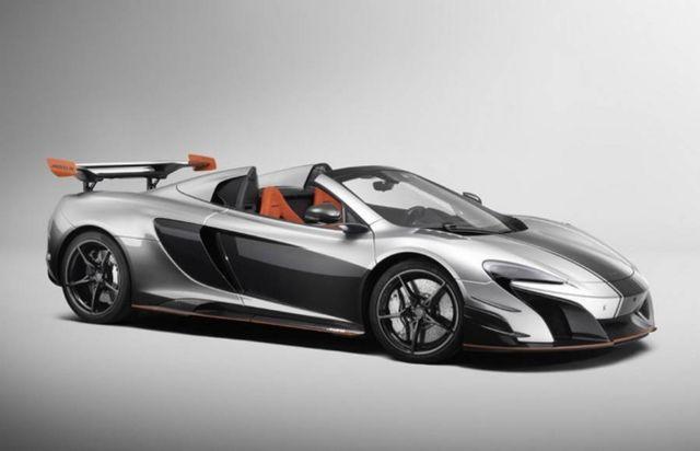 McLaren Bespoke MSO supercar