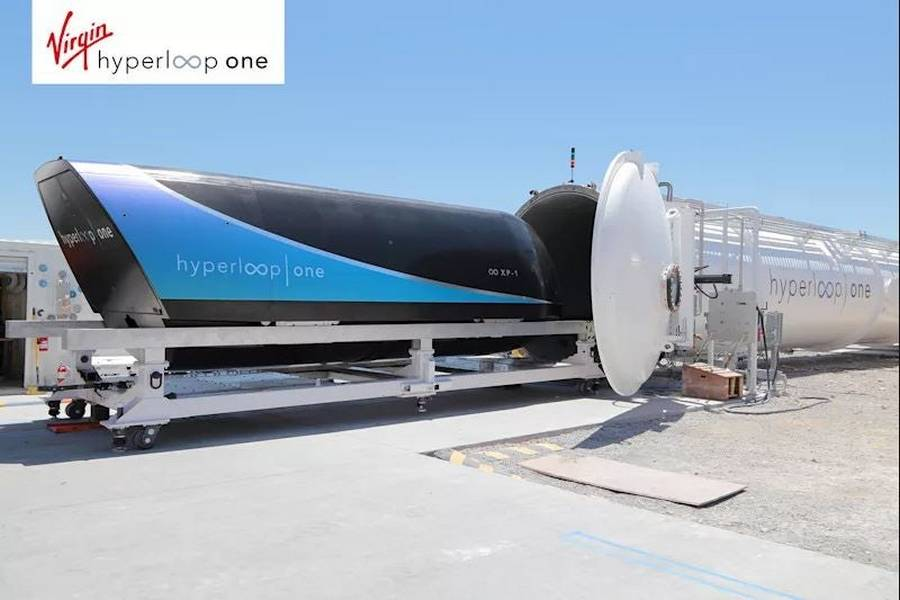 Virgin join forces with Hyperloop One