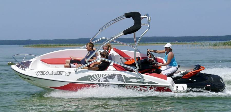 WaveBoat- the boat propelled by a Jet-Ski