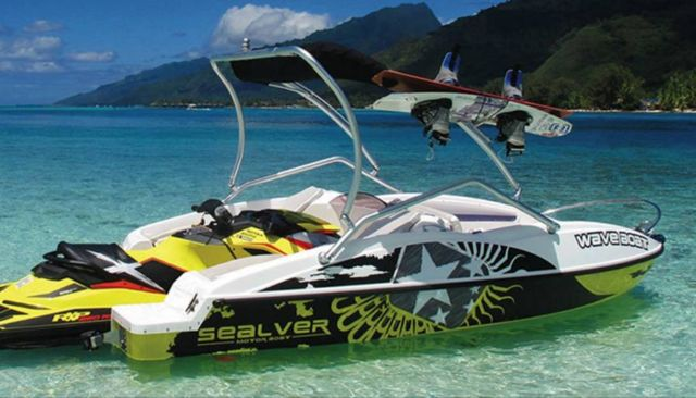WaveBoat- the boat propelled by a Jet-Ski (4)