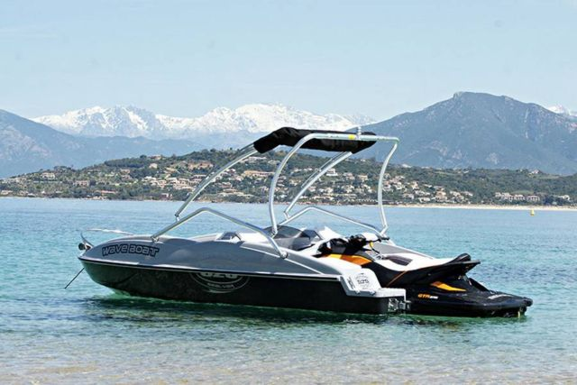 WaveBoat- the boat propelled by a Jet-Ski (2)