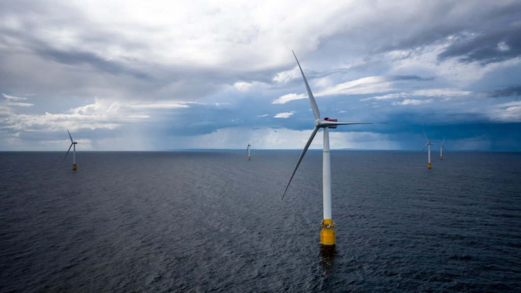 World's first Floating Wind Farm switched on