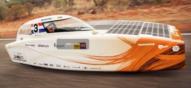 Nuon Solar Team World Champion Solar Car Racing winner (5)