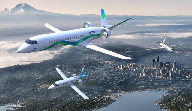Zunum Aero hybrid-electric commuter plane