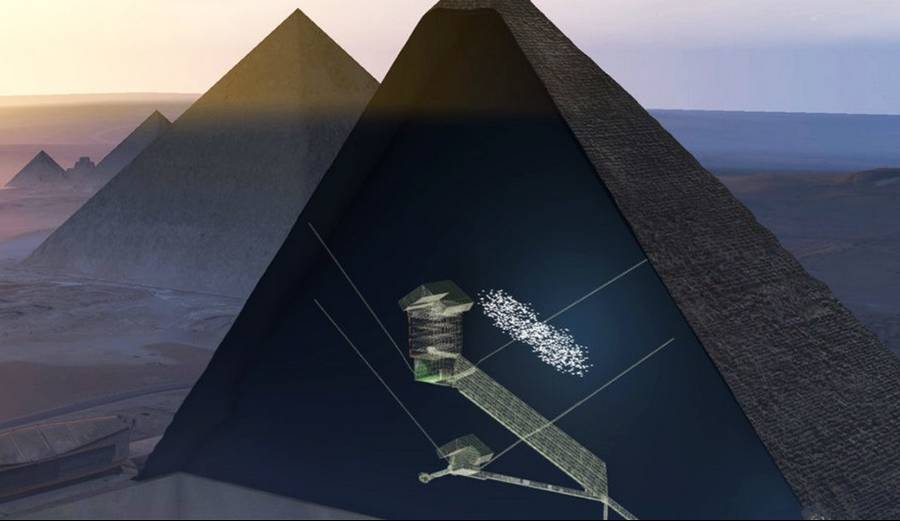 A Hidden Chamber in the Great Pyramid of Giza (4)