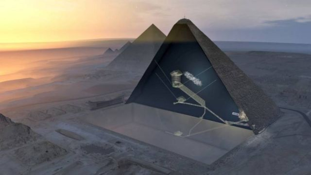 A Hidden Chamber in the Great Pyramid of Giza (3)