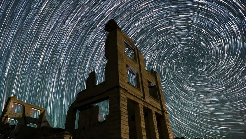 A timelapse journey through Ghost Towns