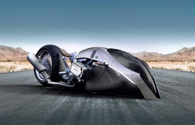BMW R1100 KHAN motorcycle concept