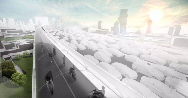 BMW proposes zero-emission Elevated roads (4)