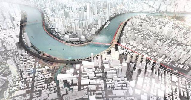 BMW proposes zero-emission Elevated roads (1)
