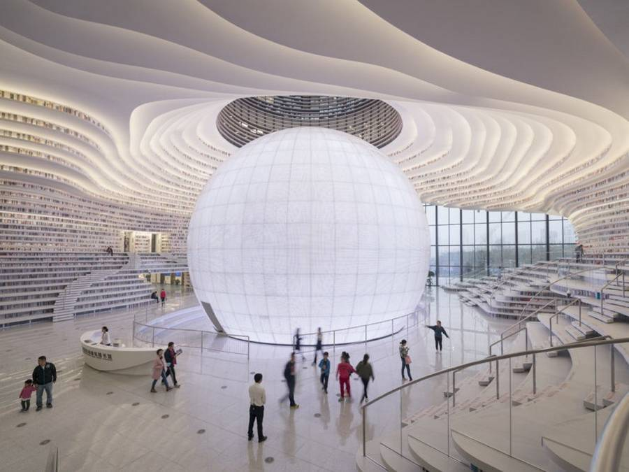 China's new stunning Library (7)