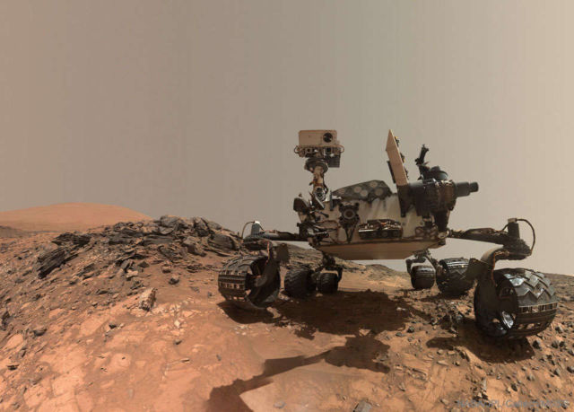 Curiosity Rover Selfie on Mars