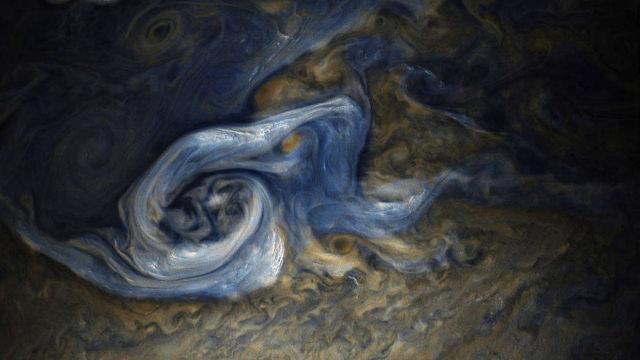 Enormous Jovian Tempest
