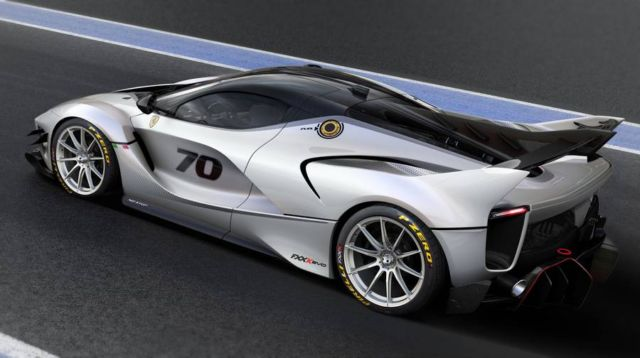 Ferrari FXX-K Evo supercar
