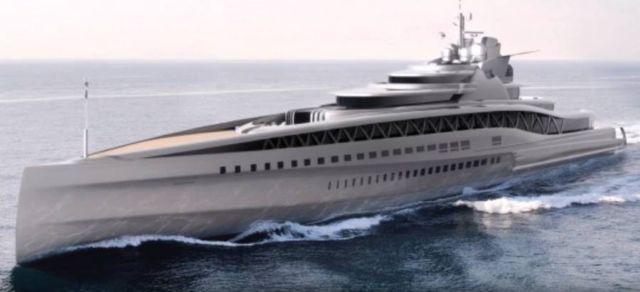 Fincantieri 145m Fortissimo superyacht
