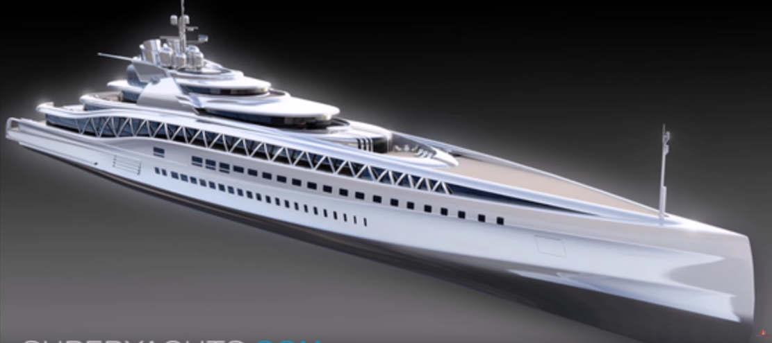 Fincantieri 145m Fortissimo superyacht (1)