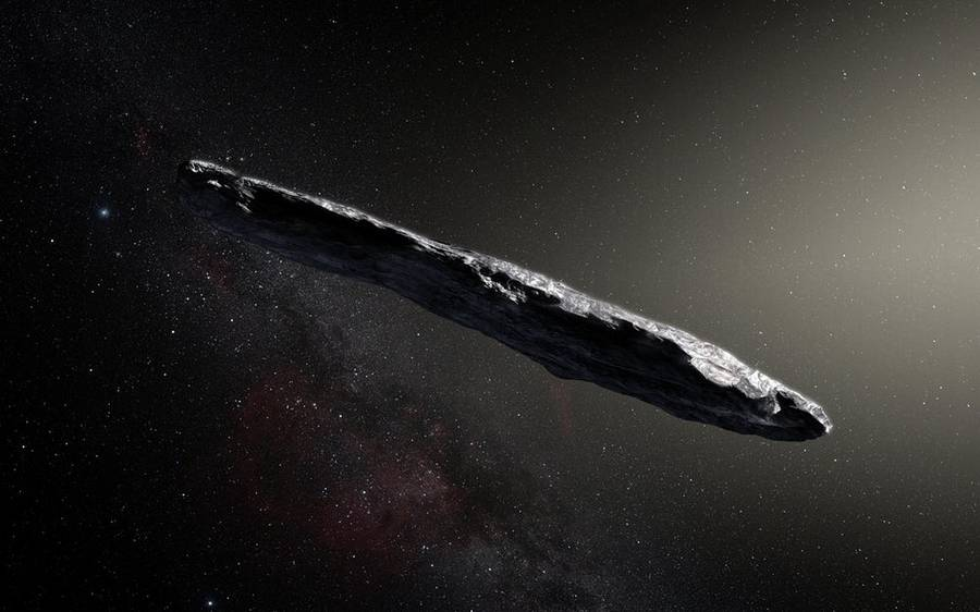 First Interstellar Asteroid