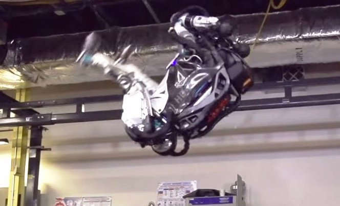 Humanoid Robot can now do a Backflip