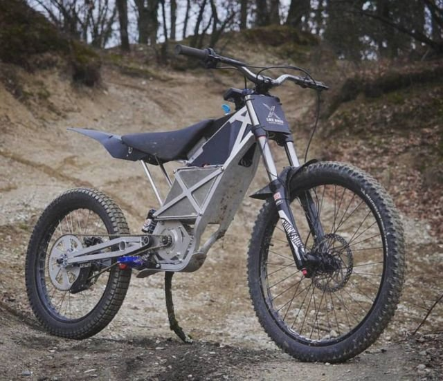 LMX 161 world's lightest freeride motorcycle
